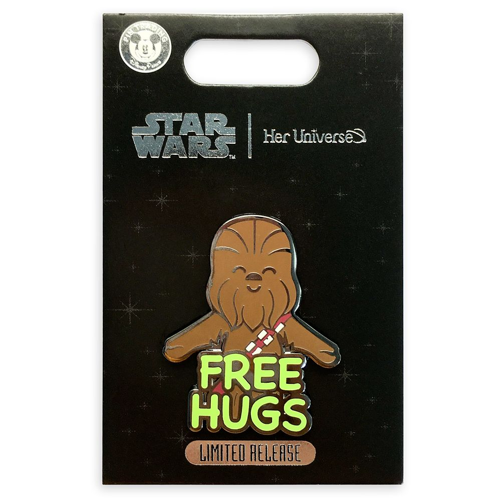 Chewbacca Pin by Her Universe – Star Wars – Limited Release
