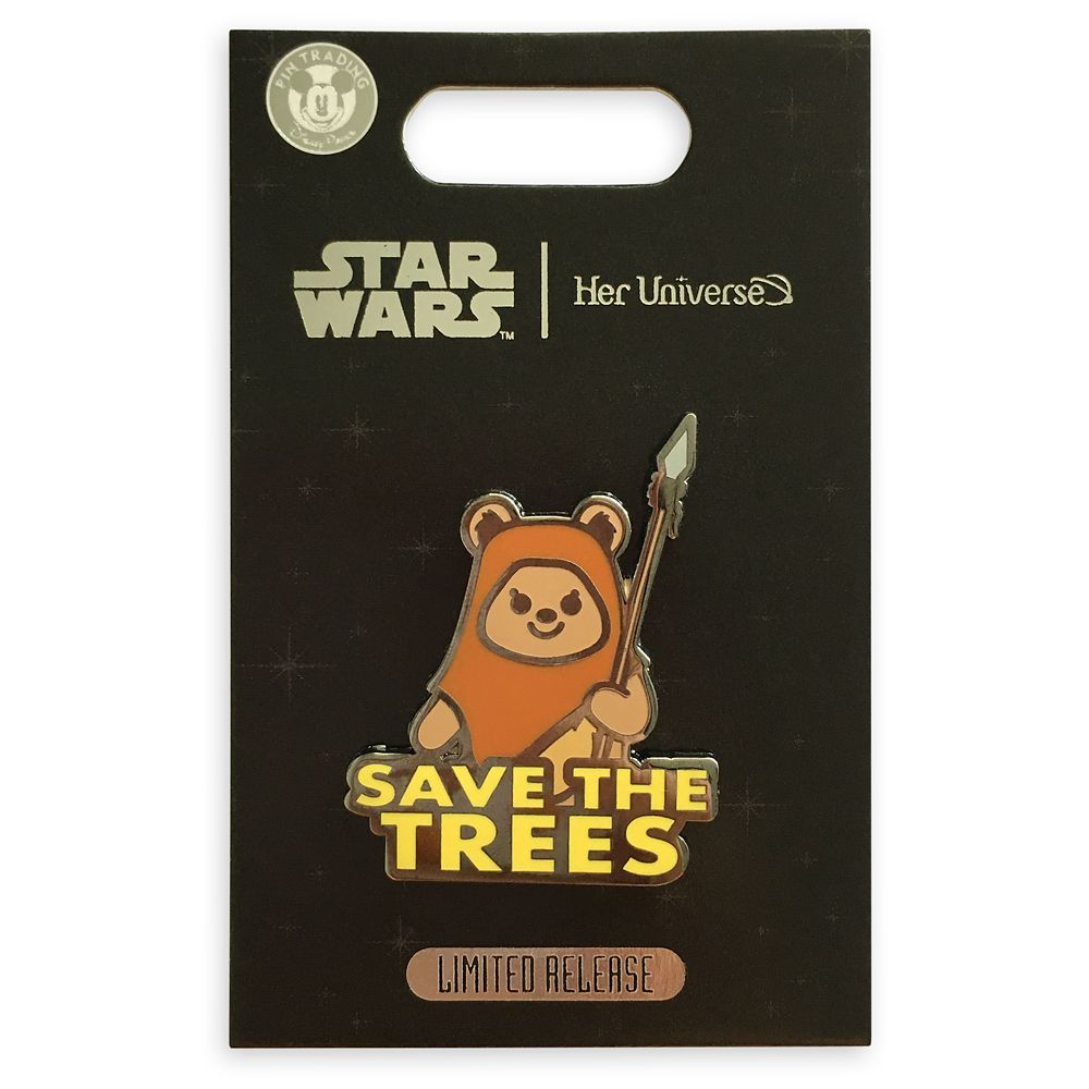 Wicket Pin by Her Universe – Star Wars – Limited Release