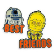 R2-D2 and C-3PO Pin Set by Her Universe – Star Wars – Limited Release