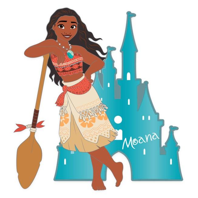 Moana with Castle Pin – Disney Princess