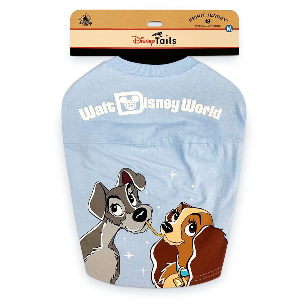 Lady and the Tramp Spirit Jersey for Dogs – Walt Disney World