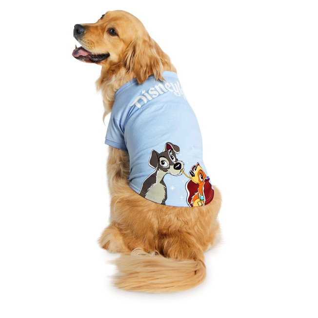 Lady and the Tramp Spirit Jersey for Dogs – Disneyland