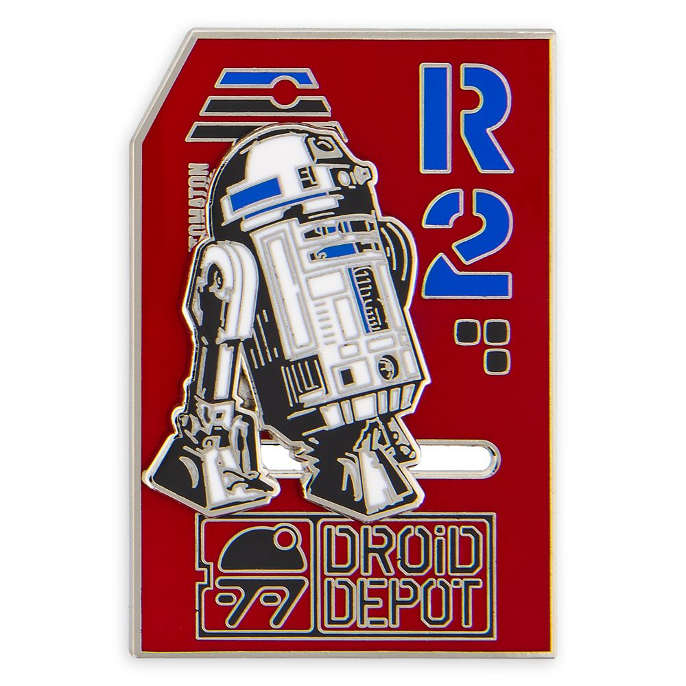 R2-D2 Slider Pin – Star Wars: Galaxy's Edge