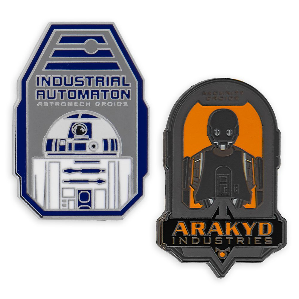 Droid Manufacture Pin Set – Star Wars: Galaxy's Edge