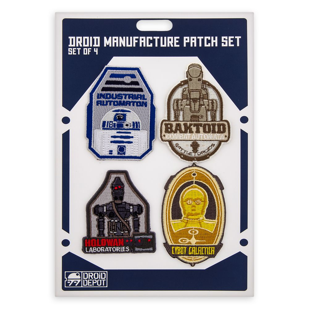 Droid Manufacture Patch Set – Star Wars: Galaxy's Edge