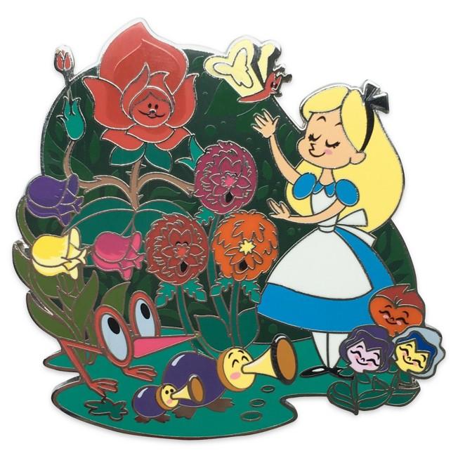 Alice in Wonderland Family Pin
