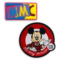 The All New Mickey Mouse Club MMC Patch Set – Disney Parks