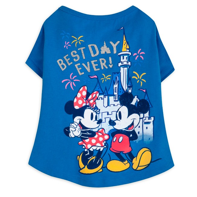 Mickey and Minnie Mouse T-Shirt for Dogs