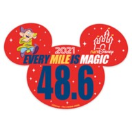 Dopey runDisney 2021 Magnet – 48.6