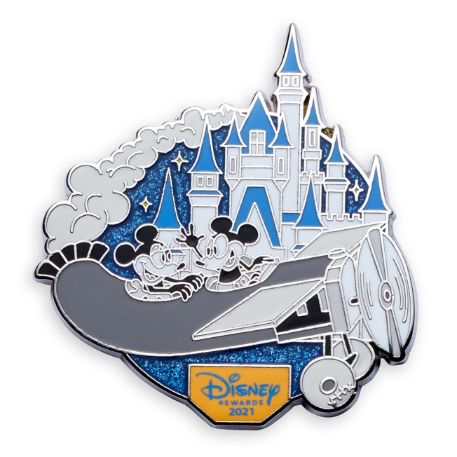 Mickey and Minnie Mouse Pin – Plane Crazy – Disney Visa Cardmember Exclusive 2021