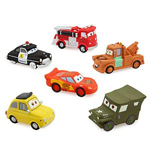 Cars Squeeze Toy Set