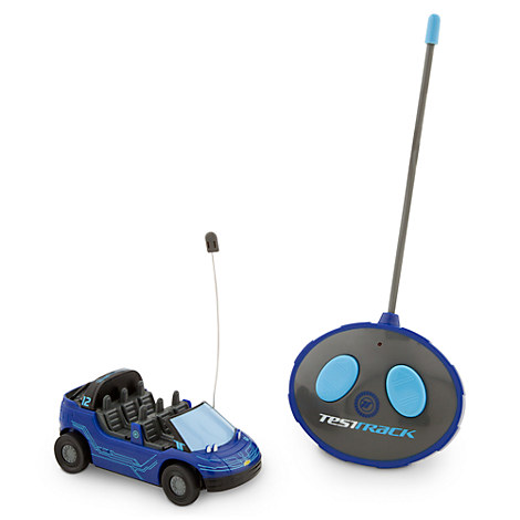 Test Track Radio Control Vehicle