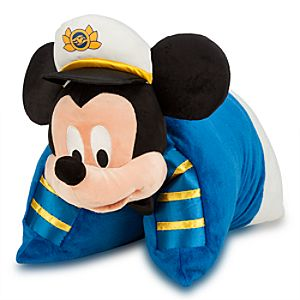 Mickey Mouse Pillow Plush - Disney Cruise line