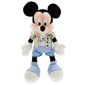 Mickey Mouse Plush - Aulani, A Disney Resort & Spa - Medium - 17''