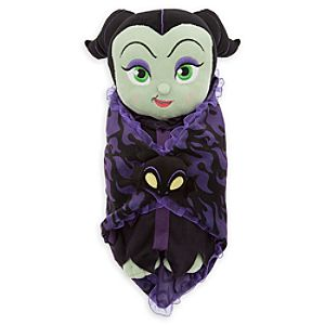 Disneys Babies Maleficent Plush Doll and Blanket - Small - 11 1/2