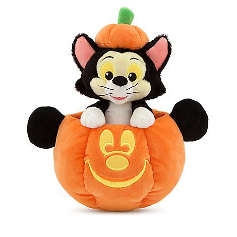 Figaro in Mickey Mouse Jack O'Lantern Plush - Small - 11''