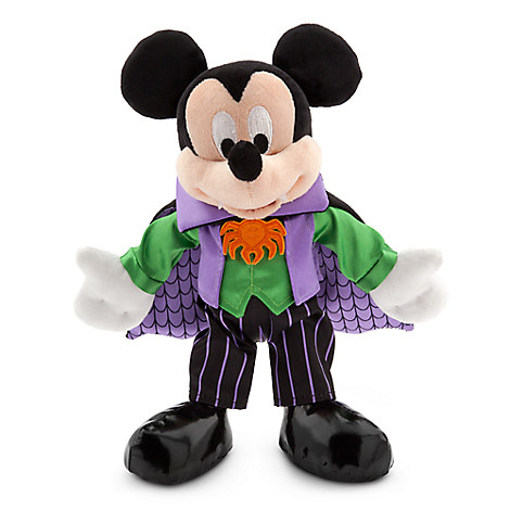 Mickey Mouse Plush - Halloween - Small - 9''