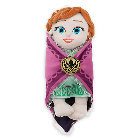 Disney's Babies Anna Plush Doll and Blanket - Small - 10''