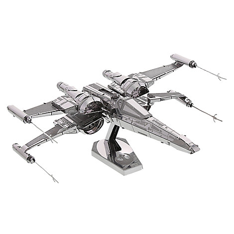 Star Wars: The Force Awakens Resistance X-Wing Fighter Metal Earth Model