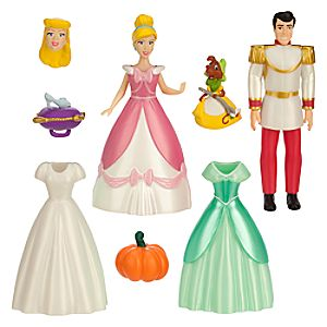 Cinderella Deluxe Figure Fashion Set 7512055890100P