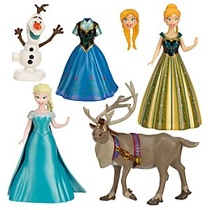 Frozen Deluxe Figure Fashion Set 7512055890102P