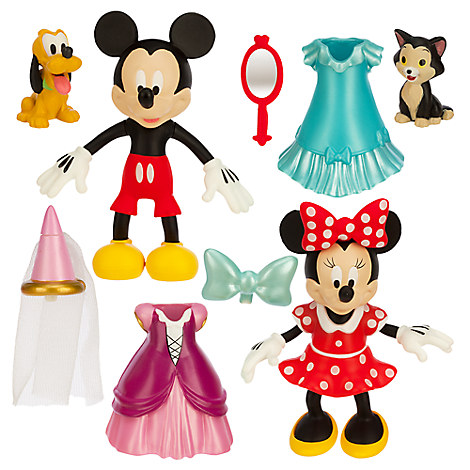 Minnie Mouse Disney Princess Deluxe Figure Fashion Set
