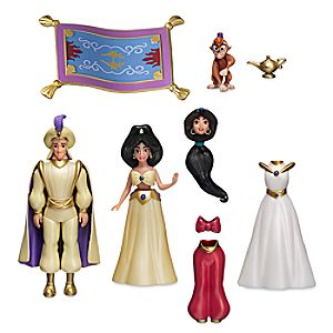 Jasmine Deluxe Figure Fashion Set