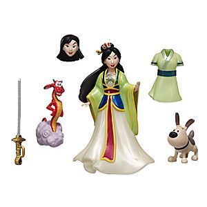 Mulan Figure Fashion Set