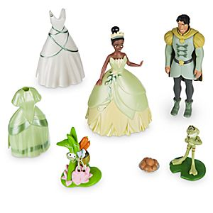 Tiana Deluxe Figure Fashion Set 7512055890123P
