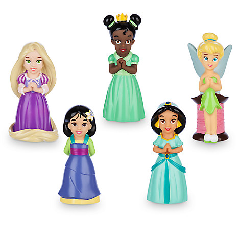 Disney Princess and Fairy Squeeze Toy Set
