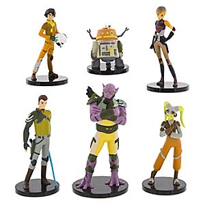 Star Wars Rebels Collectible Figure Set 7512055890160P