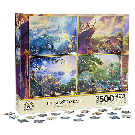 Disney Classics Puzzle Set by Thomas Kinkade