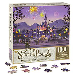 Sleeping Beauty Castle Hong Kong Disneyland Resort Jigsaw Puzzle