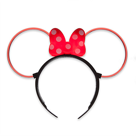 Minnie Mouse Glow Ear Headband