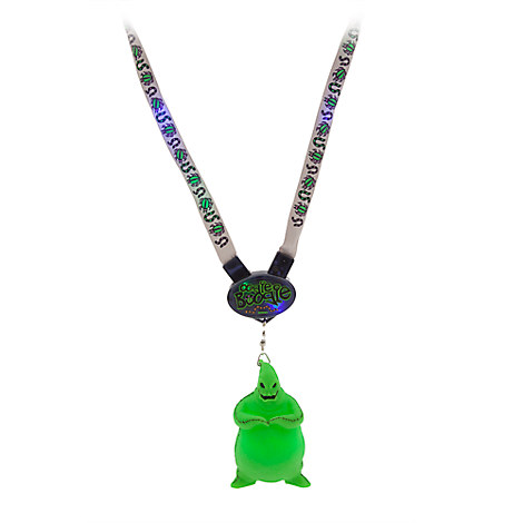Oogie Boogie Light-Up Figure and Lanyard
