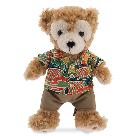Duffy the Disney Bear Plush - Aulani, A Disney Resort & Spa - Small - 12''