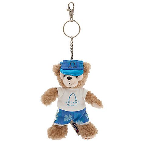 Duffy the Disney Bear Plush Keychain - Aulani, A Disney Resort & Spa
