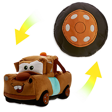 Mater Reversible Plush - Large - 19''