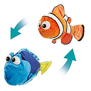 Nemo and Dory Reversible Plush - Large - 22''