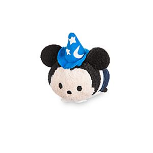Sorcerer Mickey Mouse ''Tsum Tsum'' Plush - Fantasyland - Mini - 3 1/2''