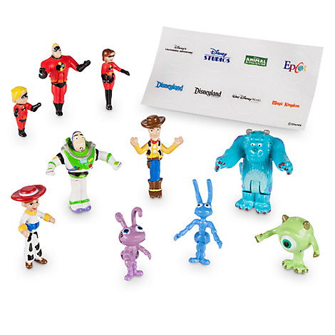 Monorail Characters Play Set - Pixar Pals
