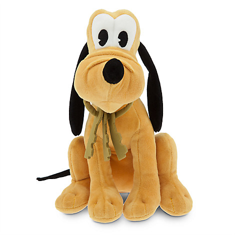 Pluto Plush - Pirates of the Caribbean - Small - 9''
