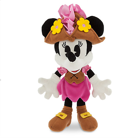 Minnie Mouse Plush - Pirates of the Caribbean - Small - 13''