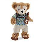 Duffy the Disney Bear Aloha Wear Costume - Aulani, A Disney Resort & Spa - 17''