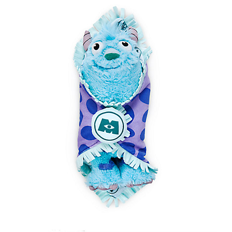 Disney's Babies Sulley Plush with Blanket - Small - 10''