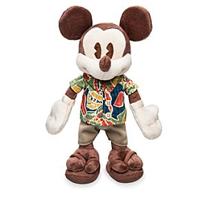 Mickey Mouse Plush - Aulani, A Disney Resort & Spa - Small - 9''