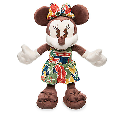 Minnie Mouse Plush - Aulani, A Disney Resort & Spa - Small - 9''