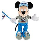 Mickey Mouse Plush - Magic Kingdom 45th Anniversary - Small - 9''