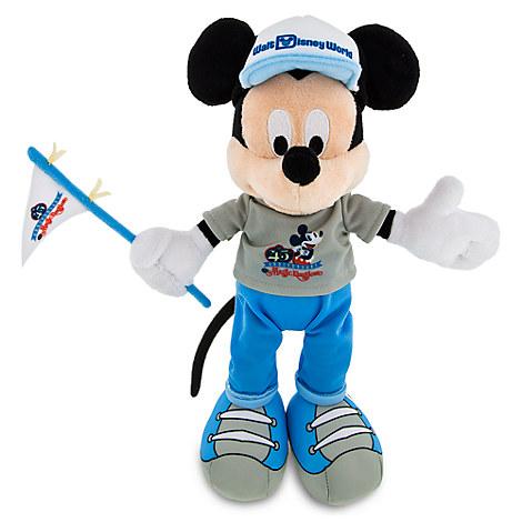 Mickey Mouse Plush - Magic Kingdom 45th Anniversary - Small - 9''