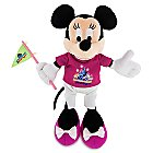 Minnie Mouse Plush - Magic Kingdom 45th Anniversary - Small - 9''